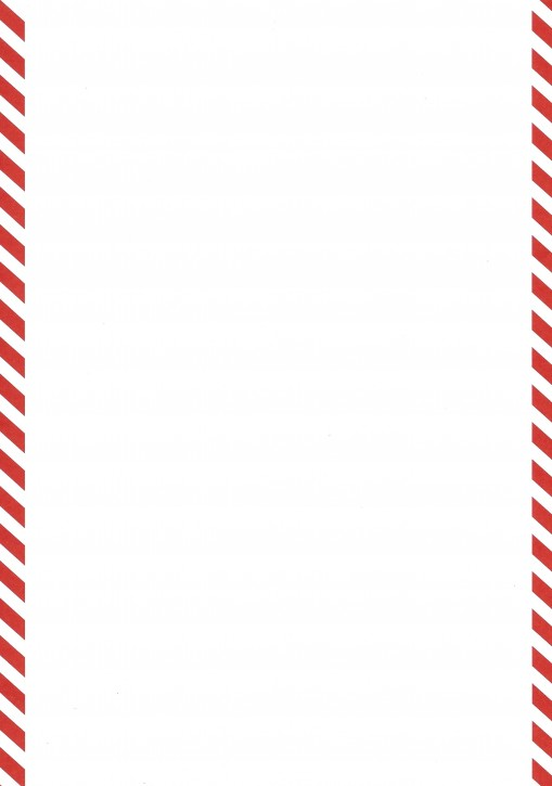 Formulare mit rotem Rand (links und rechts je 1cm), Sonderanfertigung Format DIN A 4, VPE 100 Stück