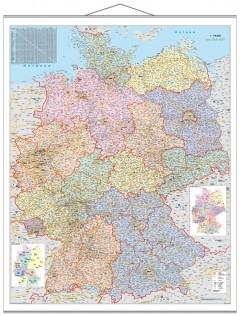 Organisationskarte Deutschland