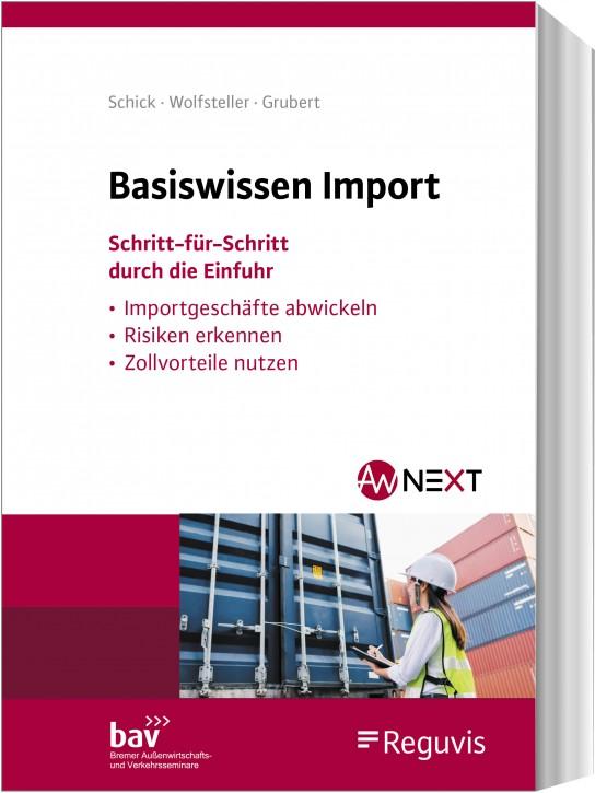 Basiswissen Import - erscheint Juni 2020
