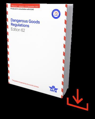 Web-Download IATA 2021 Dangerous Goods Regulations, 61st Edition, englische Ausgabe