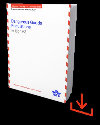 Web-Download IATA 2022 Dangerous Goods Regulations, 63nd Edition, englische Ausgabe