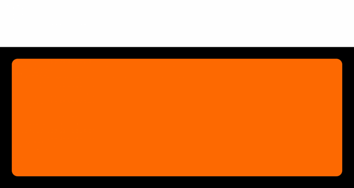 Orange Panel, Format 30 cm x 12 cm, Folie, VPE 100 Stück