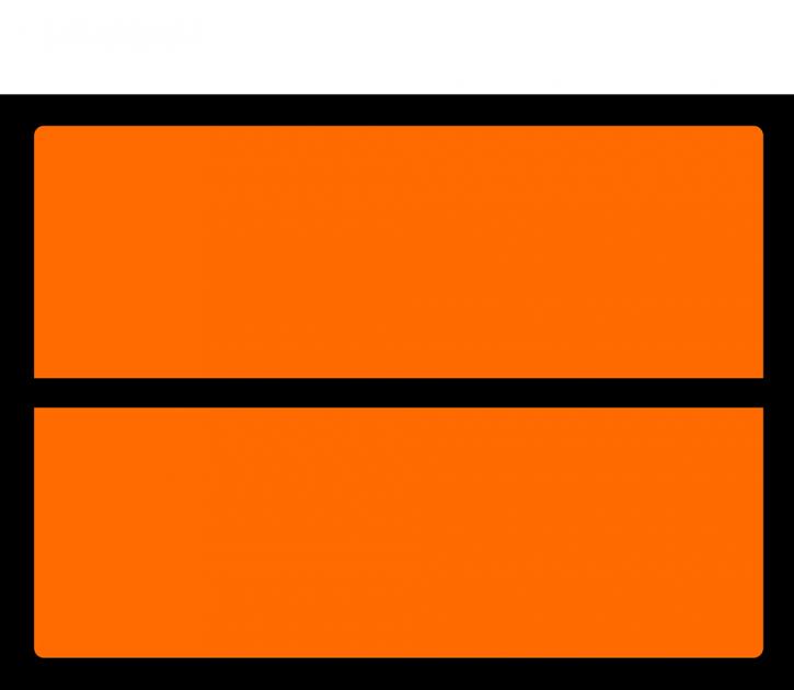 UN-Tafel, Format 30 cm x 40 cm, Folie, VPE 100 Stück