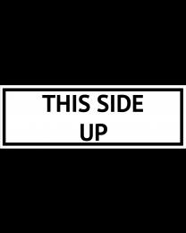 This side up, Format 5 cm x 14,8 cm, Folie, VPE 100 Stück