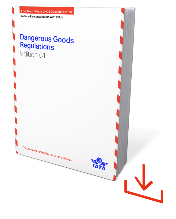 Web-Download IATA 2020 Dangerous Goods Regulations, 61st Edition, englische Ausgabe