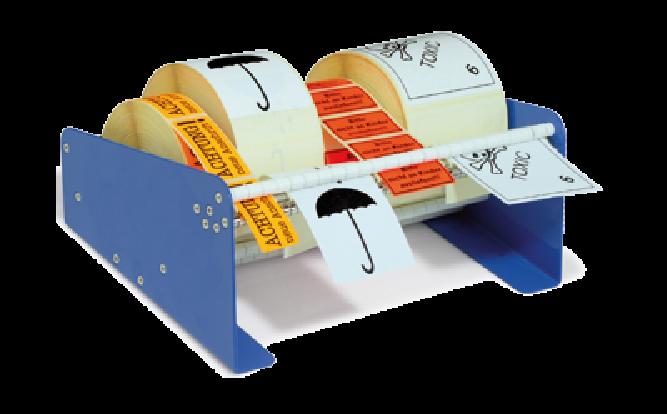 Etikettenspender 315mm für Rollenetiketten