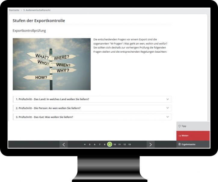 Web Based Training: Jahresupdate Zoll- und Außenwirtschaftsrecht 2020