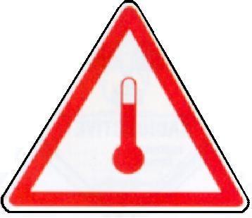 Elevated Temperature, Format 25 cm Seitenlänge, Folie, VPE 100 Stück