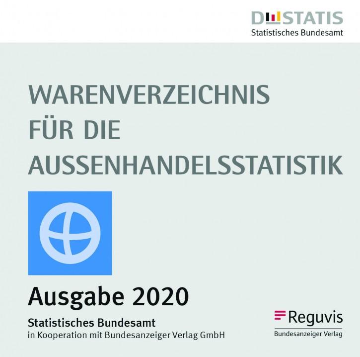 Warenverzeichnis für die Außenhandelsstatistik - CD-ROM Ausgabe 2020