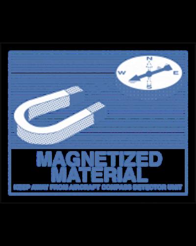 Magnetized Material, Format 12 cm x 9 cm, Folie, VPE 100 Stück