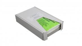 Lieferscheintaschen DIN Lang Grün aus Papier, VPE 1.000 Stück